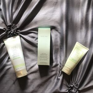 Mary Kay satin hands, body, and mint bliss lotion